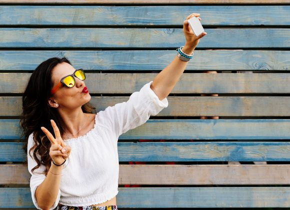 The brand power of the selfie